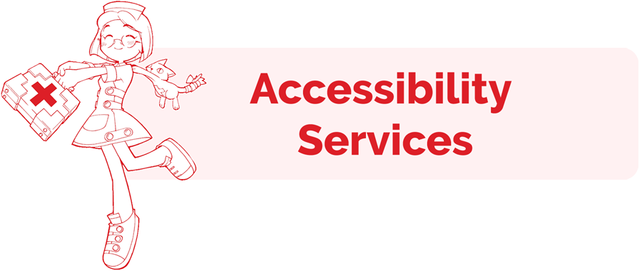 Accessibility Services information page header