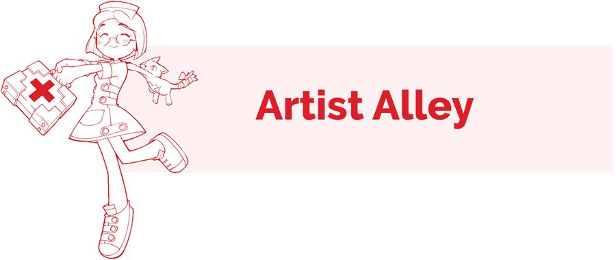 Artist Alley info page header