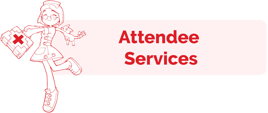 Attendee Services information page header