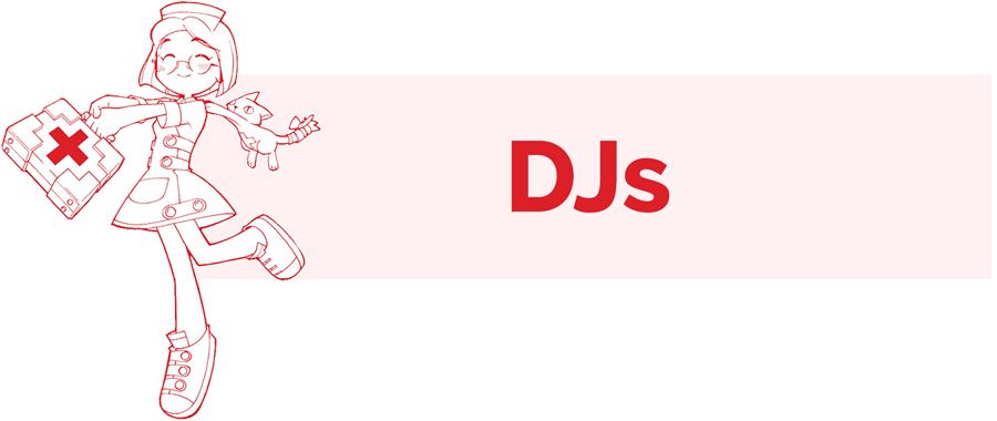 DJs info page header