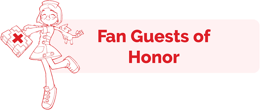 Fan Guests of Honor header