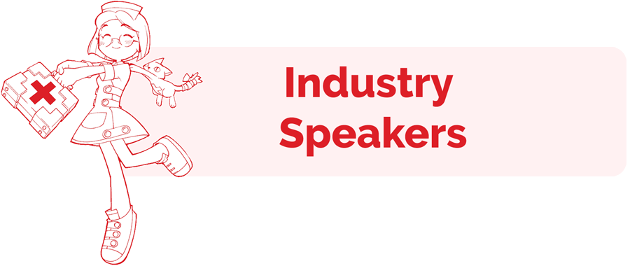 Industry Speaker info page header