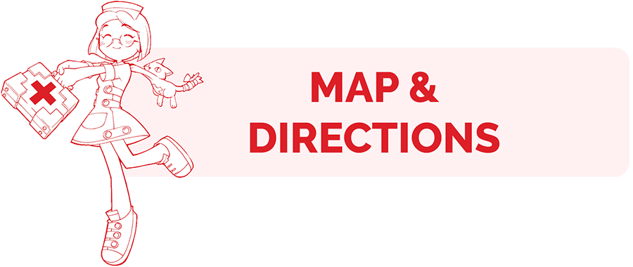 Map and Directions page header
