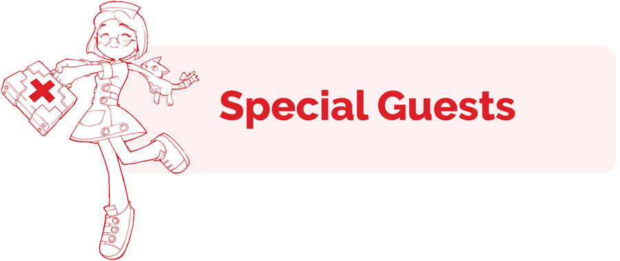 Special Guests header