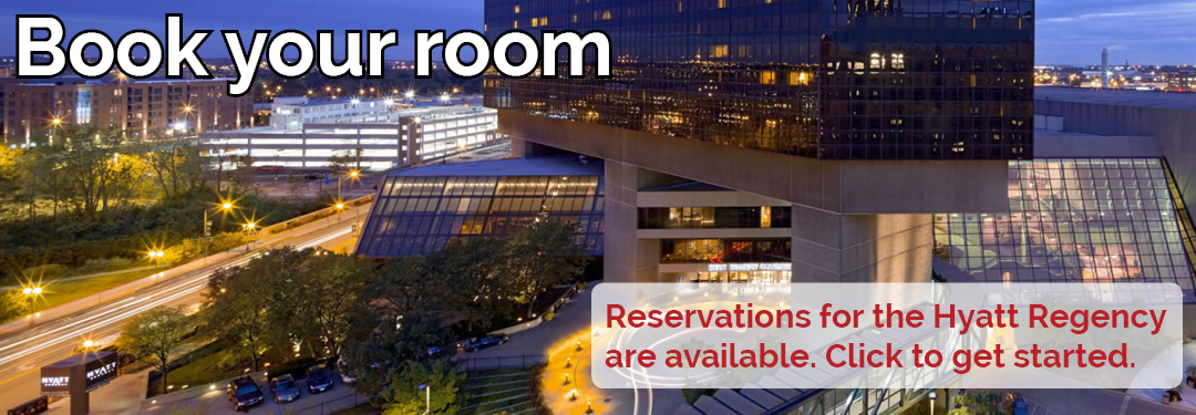 Book your room with our Hyatt Passkey. Reservations are still available.