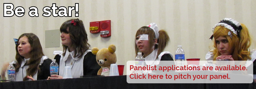Be a star! Panelist applications are now available.