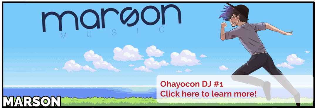 Marson to perform at Ohayocon 18. Click to learn more.